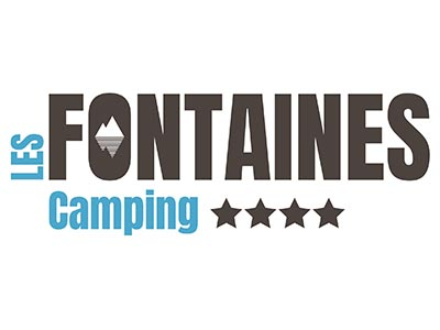 Logo camping Les Fontaines