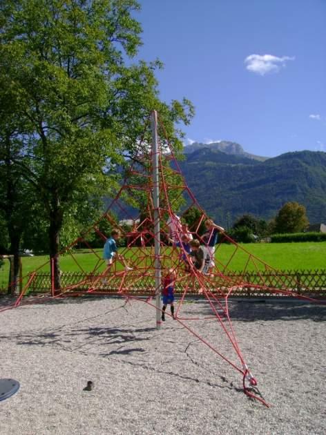 Une aire de jeux pour vos enfants