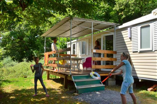 Le mobil-home emplacements