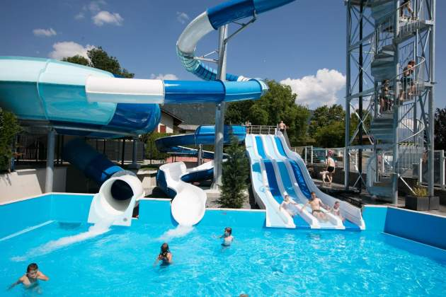 Our water slides