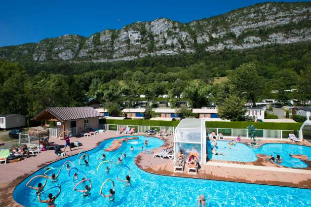 aquagym Camping Les Fontaines